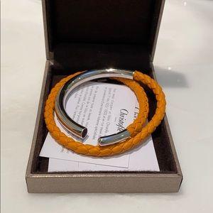 Christofle Orange Silver Duo Cómplice Bracelet